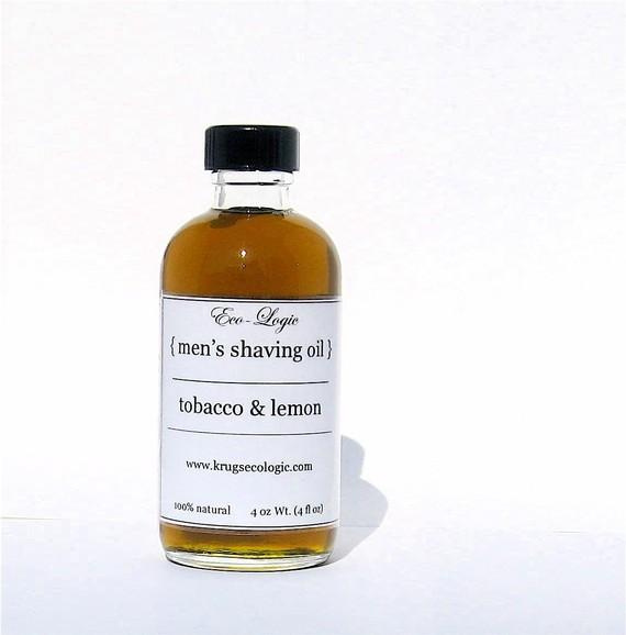 Eco Logic Tobacco Lemon Shave Oil