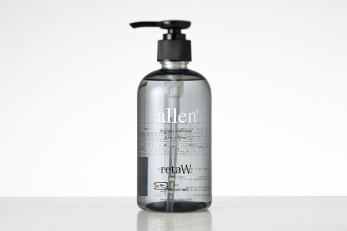 retaW Allen Fragrance Hand Soap