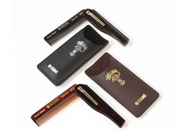 Kent Folding Pocket Comb