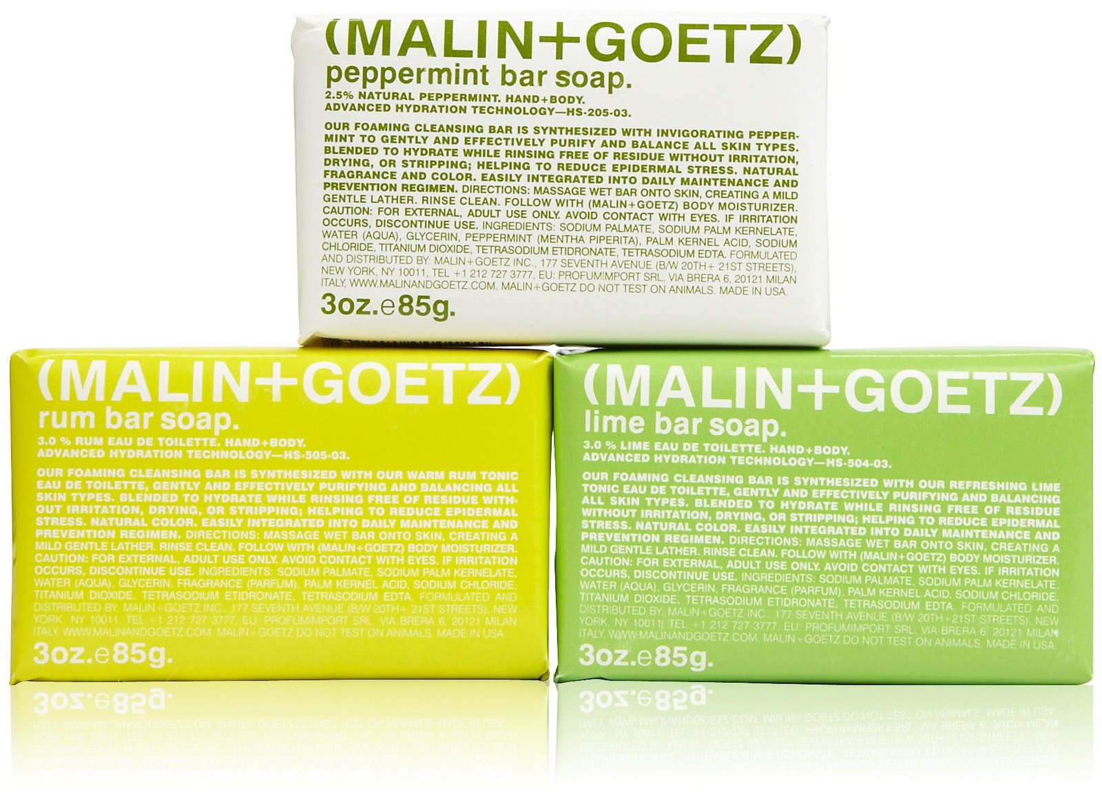 Malin Goetz Mojito Soap Set